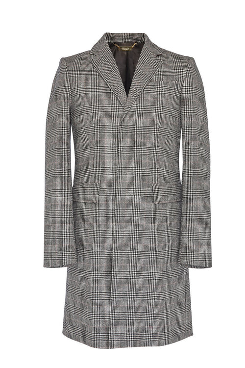 Finsbury Over Coat (Prince of Wales Check)