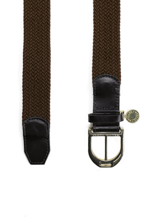 Stirrup Belt (Dark Brown)