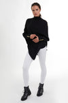 The Windsor Knit Wrap (Black)