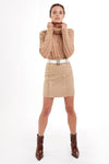 Knightsbridge Skirt (Camel)