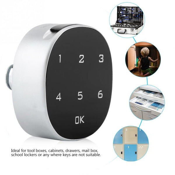 Cabinet Safe Lock Digital Zinc Alloy Digital Password Safety Combination File lock Electronic Keyless Locks Furniture Hardware