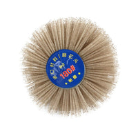 Wire Grinding Flower Head Abrasive Nylon Wheel Wooden Polishing Brush 6 mm Handle For Wood Furniture4.12