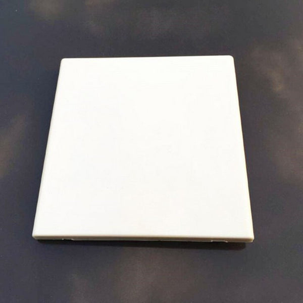 30pcs 120 Type Square Cover Panel Wall Switch Socket Blank Panel Cover Plate White 120*117mm