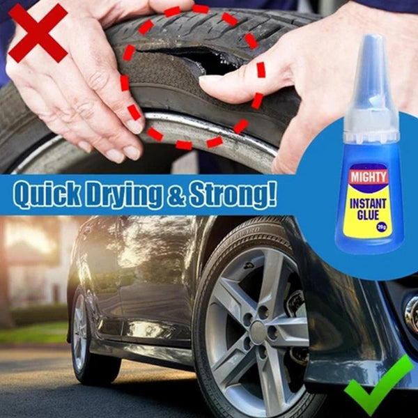 1 Bottle Industrial High Viscosity Superglue Multi Purpose Transparent Glue Quick Dry Long Lasting For Wood Rubber eramic