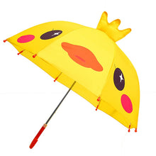 Load image into Gallery viewer, UM- Children's Umbrella with long-handled 3D ear or crown.