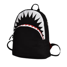 Load image into Gallery viewer, BP-Kids 3D Model Shark School Bags Nylon Children Backpacks 2 sizes, so your little one can be just like big brother or sister.