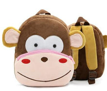 Load image into Gallery viewer, Little Hands Backpacks: Monkey, Koala, Bee, Zebra, Fox, Dog, Pig, Shark, Lion, Elephant, and so many more