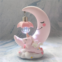 Load image into Gallery viewer, RD- Delicate Peaceful Unicorn Nightlight Resin Figurine