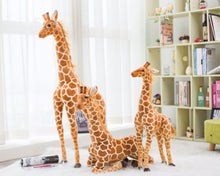 Load image into Gallery viewer, AA- Giraffe Plush Animal So Soft to be treasured 23 inches and 31 inches tall