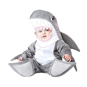 Baby- Halloween was never so cute than with your little one warm in a Shark Costume to be played in many more times.