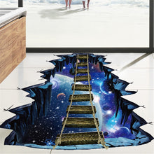 Load image into Gallery viewer, CA-2019 3D Star Series Floor Wall Sticker Removable Mural Decals Vinyl Art Room Decor Modern Full Light Shading Plane Wall Sticker