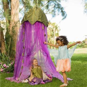 Fairy Crown Canopy for little woodland creatures to play the day away.