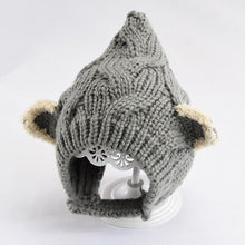 Load image into Gallery viewer, Warm Winter Knitted Hat Winter Hat for babies to toddlers.