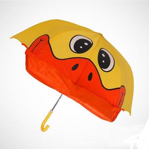 The absolute cutest way to keep your little ones covered from the rain or too much sun. They will celebrate the fun adventure of these funny umbrellas.