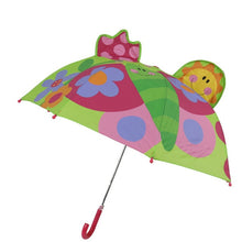 Load image into Gallery viewer, The absolute cutest way to keep your little ones covered from the rain or too much sun. They will celebrate the fun adventure of these funny umbrellas.