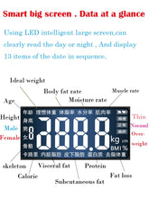 Load image into Gallery viewer, MH-Bathroom Body Weight Scale Scales Glass Smart Household Electronic Digital Floor Weight Balance  LCD Display