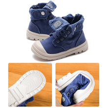 Load image into Gallery viewer, SH-2019   Kids Sneakers High Children's Canvas Shoes
