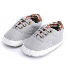 Load image into Gallery viewer, Shoes-Newborn Baby First Walker Infant Canvas Shoes 0-18 months