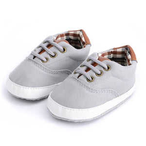 Shoes-Newborn Baby First Walker Infant Canvas Shoes 0-18 months