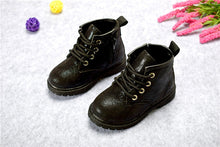 Load image into Gallery viewer, SH- 2019 Girls Boots PU Leather Waterproof Kid Boots Flower Design