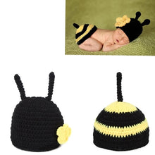 Load image into Gallery viewer, Soft Handmade Crochet Cotton Newborn Baby Knitted For 0~12 Months Babies Hats Sets