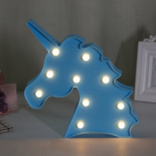 Load image into Gallery viewer, 3D Love Heart Marquee Letter Lamps Indoor Decorative Nights Lamps LED Night Light.
