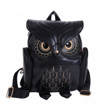 Load image into Gallery viewer, BP- Cute Owl Fashion Backpacks Cartoon  Backpack Softback School Bags