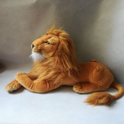AA- Large Lion 21 Inches Plush with real world positioning and face