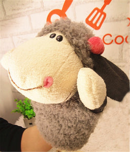 TOY-Story Learning Baby Kid Children Zoo Plush Toy Animal Hand Glove Puppets Cute Kawaii