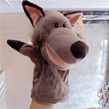 Load image into Gallery viewer, TOY-Story Learning Baby Kid Children Zoo Plush Toy Animal Hand Glove Puppets Cute Kawaii