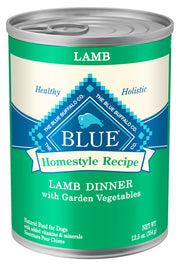 Blue Buffalo Homestyle Recipe Lamb Dinner with Garden Vegetables & Brown Rice Canned Dog Food