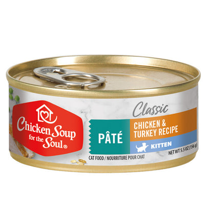 Chicken Soup For The Soul Kitten Canned Cat Food