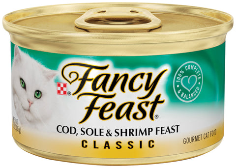 Fancy Feast Cod, Sole and Shrimp Canned Cat Food