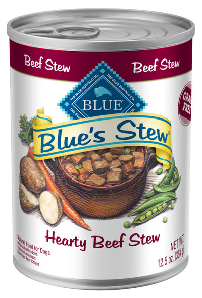Blue Buffalo Blue's Hearty Beef Stew Canned Dog Food