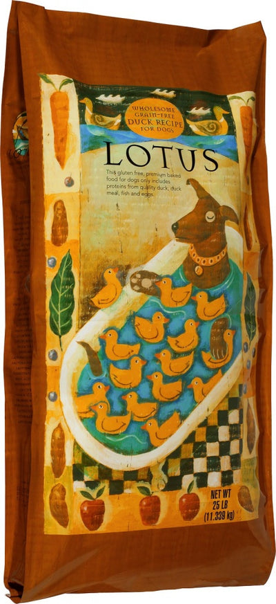 Lotus Oven Baked Grain Free Duck Recipe Dry Dog Food
