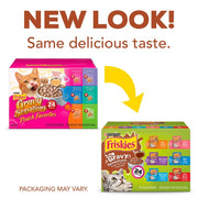 Friskies Gravy Sensations Variety Pack Cat Pouches Wet Cat Food