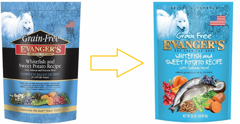 Evangers Grain Free Super Premium Whitefish and Sweet Potato Dry Dog Food