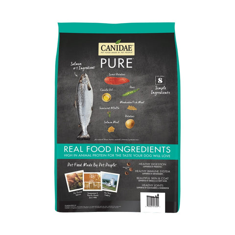 Canidae Grain Free PURE Salmon & Sweet Potato Recipe Dry Dog Food