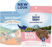 Natural Balance Belly Bites Salmon & Legume Semi-Moist Treats for Dogs