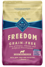Blue Buffalo Freedom Large Breed Adult Beef Recipe Dry Dog Food