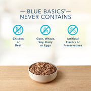 Blue Buffalo Basics Limited Ingredient Diet Grain Free Adult Duck & Potato Canned Dog Food