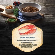 Fussie Cat Market Fresh Grain Free Salmon Recipe Dry Cat Food