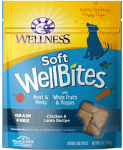 Wellness Natural Grain Free Wellbites Chicken and Lamb Recipe Dog Treats