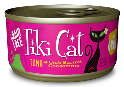 Tiki Cat Lanai Luau Grain Free Tuna In Crab Surimi Consomme Canned Cat Food