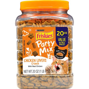 Friskies Party Mix Chicken Lovers Crunch Cat Treats