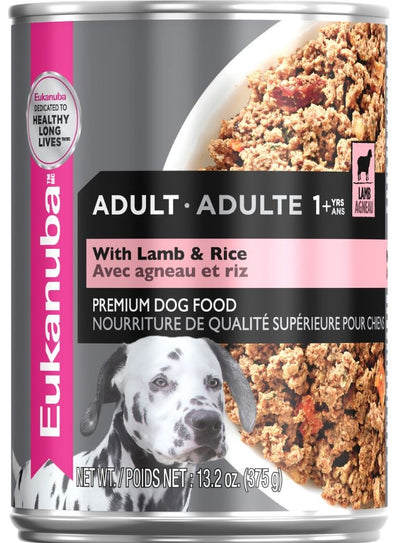 Eukanuba Adult Lamb & Rice Dinner Canned Dog Food