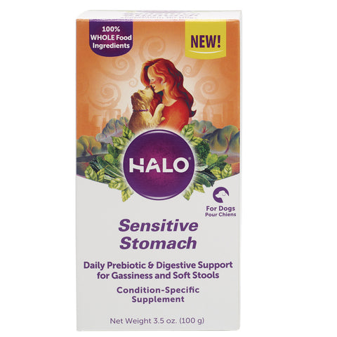 Halo Sensitive Stomach Supplement Powder for dogs