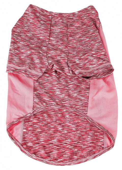 Pet Life Active Warf Speed Sporty Performance Dog T-Shirt in Pink