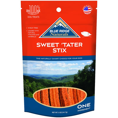 Blue Ridge Naturals Sweet Tater Stix Dog Treats