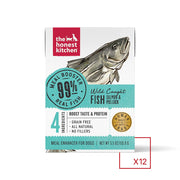 The Honest Kitchen Meal Booster 99% Salmon & Pollock Dog Food Topper